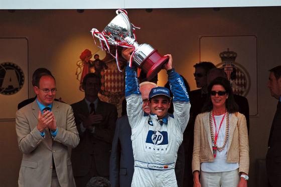 Juan Pablo Montoya beim Monaco GP 2003
