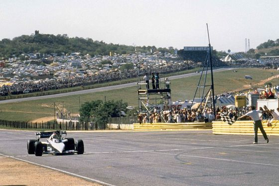 Nelson Piquet 1983 im Brabham BT 52
