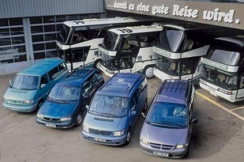 Große Vans im Gebrauchtwagen-Test