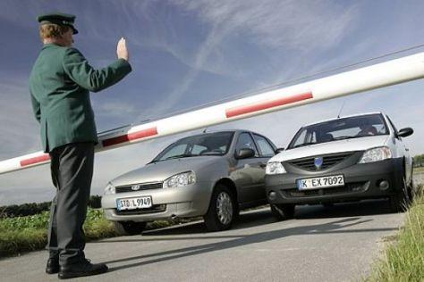 Test Dacia Logan gegen Lada 1118 Kalina