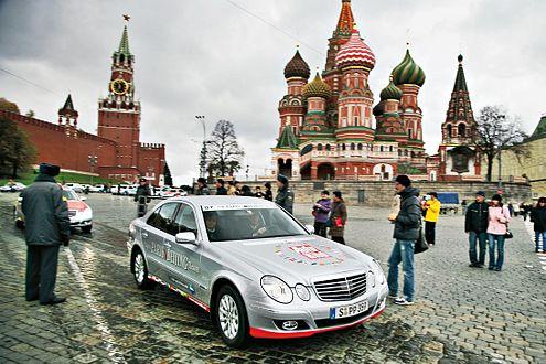 Prunkvoll: Moskau beeindruckte die Reisenden mit seinen Prachtbauten.