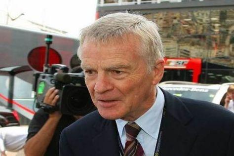 Max Mosley wollte eine Budgetgrenze von 33 Millionen Euro ab 2010 einführen