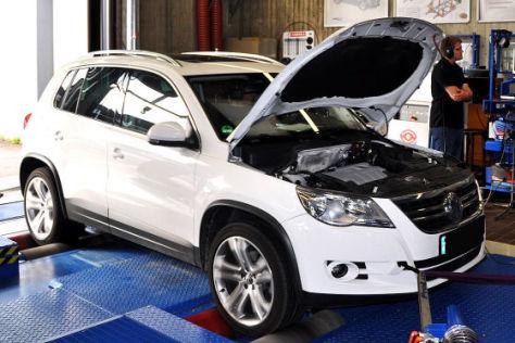Euro-5-Update  beim VW Tiguan TDI