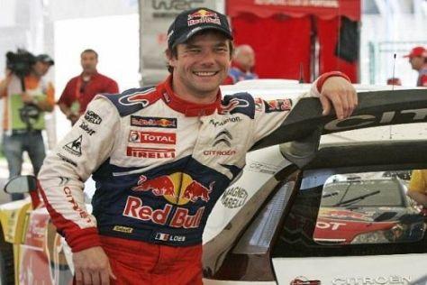 Sébastien Loeb holte im Shakedown der Rallye Finnland die Bestzeit