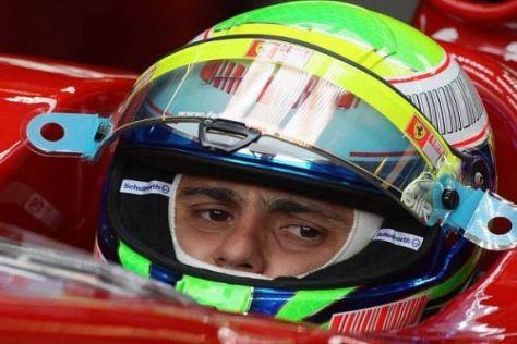 Massa wurde durch den Schuberth-Helm vor schlimmeren Verletzungen geschützt