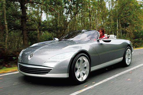 Schöne Aussichten: Der Nepta trägt die Design-Linien künftiger Serienautos.