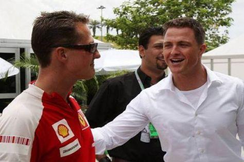 Ralf Schumacher wünscht seinem großen Bruder Michael alles Gute