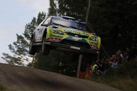 Mikko Hirvonen konnte seinen Vorsprung in Finnland ausbauen