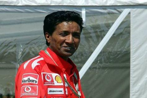 Balbir Singh war viele Jahre lang der Fitness-Guru von Michael Schumacher