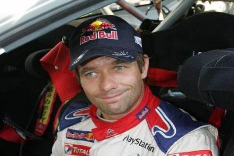 Das Gesicht sagt alles: Sébastien Loeb musste sich geschlagen geben