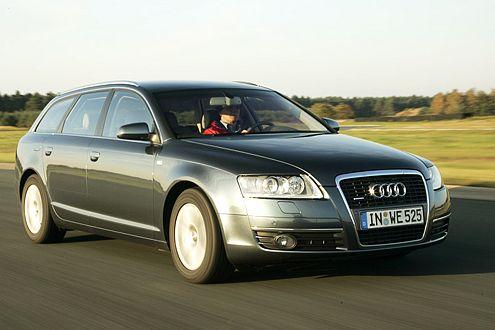 Der Audi-Allradantrieb ist hervorragend: quattro gewinnt.