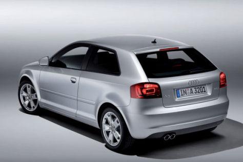 Audi erhöht die Preise zum 1. September 2009 um knapp ein Prozent.