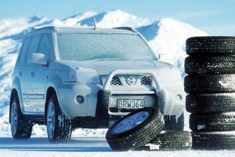 Mietwagen mit Winterreifen teurer
