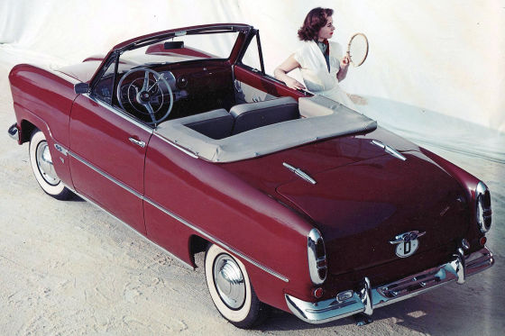 Ford 12M Deutsch Cabrio