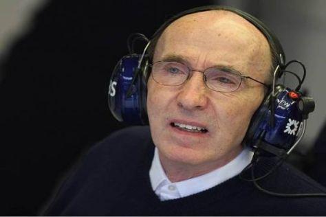 In der Schusslinie: Frank Williams erntet derzeit heftige Kritik von Ferrari