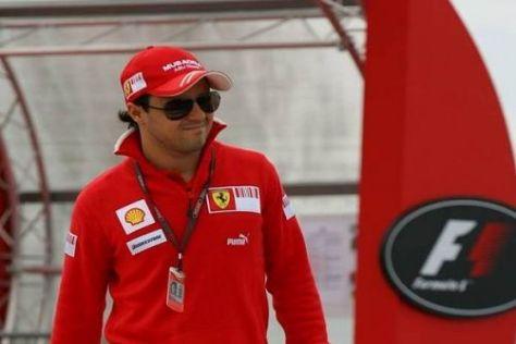 Endlich nach Hause: Felipe Massa schläft von nun an wieder im eigenen Bett