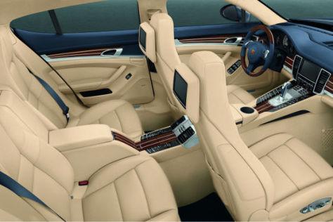 Luxuriöses Interieur für den Porsche Panamera