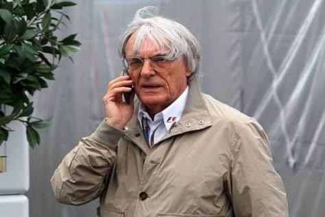 Bernie Ecclestone wird noch einige Telefonate mit Montréal führen müssen