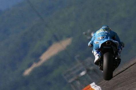 Eine der großen MotoGP-Fragen: Wer sitzt 2010 auf den Suzukis?