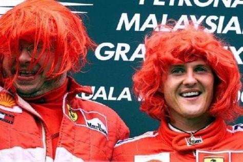 """Ross Brawn und Michael Schumacher bei Ferrari: Eine """"schöne"""" Siegesfeier"""