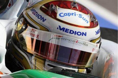 Adrian Sutil erwartet eine weitere deutliche Steigerung in Valencia