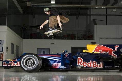 Kris Vile sorgte für eine gute Show im Red-Bull-Werk in Milotn Keynes