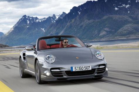 Porsche 911 Turbo Cabrio (2009)
