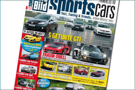 AUTO BILD SPORTSCARS 9/2009