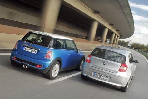 Test Mini Cooper S – BMW 120i