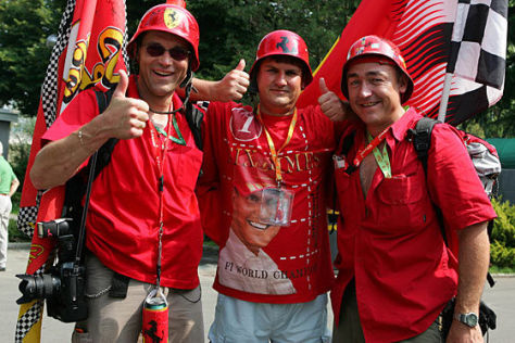 Michael Schumacher Fans