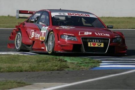 Heimspiel für Mike Rockenfeller: Der Audi-Pilot kennt den Nürburgring genau