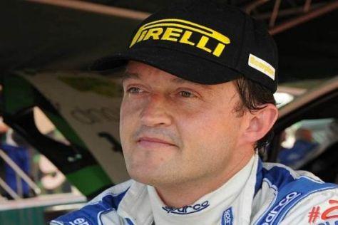 Gigi Galli hofft, dass er bald wieder in der WRC fahren kann