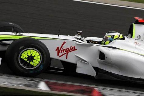Haben die Reifen Jenson Button und das Brawn-Team vom Kurs abgebracht?