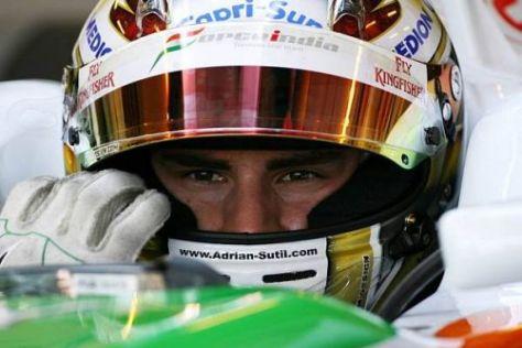 Adrian Sutil wünscht sich für Valencia ein erfolgreicheres Wochenende als in Ungarn