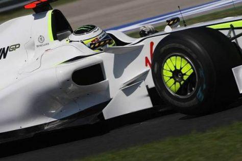 Jenson Button und das Brawn-Team haben im Sommer an Schwung verloren