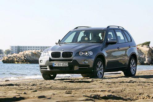 Ein teurer Spaß: Der BMW X5 3.0d kostet 51.900 Euro.