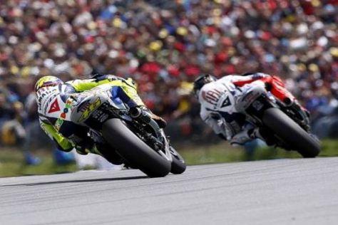 Valentino Rossi und Jorge Lorenzo wollen eine gute Show in Brünn liefern