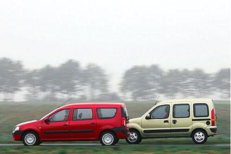Test Renault Kangoo – Dacia Logan Kombi