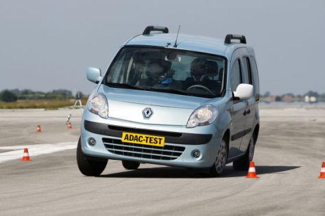 Renault Kangoo beim Elchtest