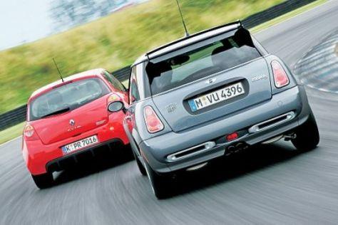 Mini Cooper S Works GP – Renault Clio Sport