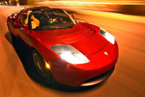 Erfolg mit E-Roadster: Tesla Motors macht Gewinn