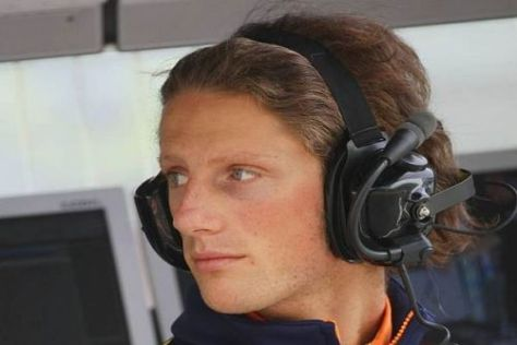 Romain Grosjean liegt in der GP2 derzeit knapp hinter Nico Hülkenberg