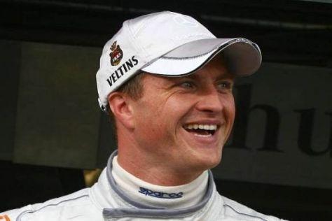 Mercedes-Fahrer Ralf Schumacher fühlt sich in der DTM absolut pudelwohl