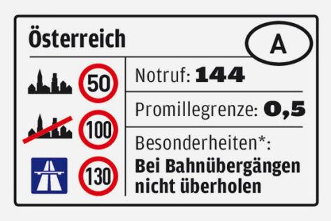 Regeln Österreich