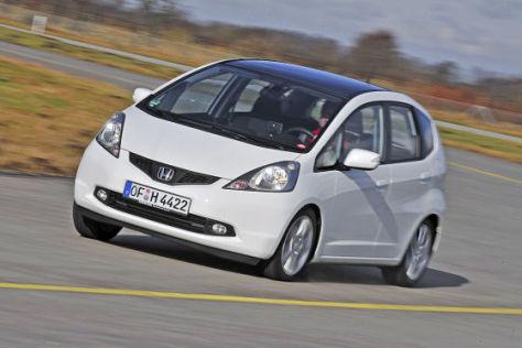 Honda bietet zwei Sondermodell vom Kleinwagen Jazz an.