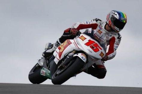Alex de Angelis konnte in Donington auf den vierten Platz fahren
