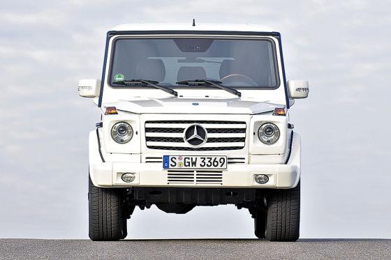 Test Mercedes G 500