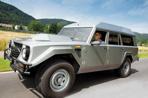 Lamborghini LM 002 Shooting brake