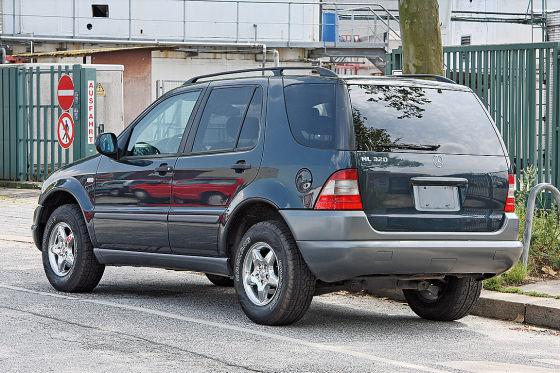 Gebrauchtwagen-Check Mercedes ML 320