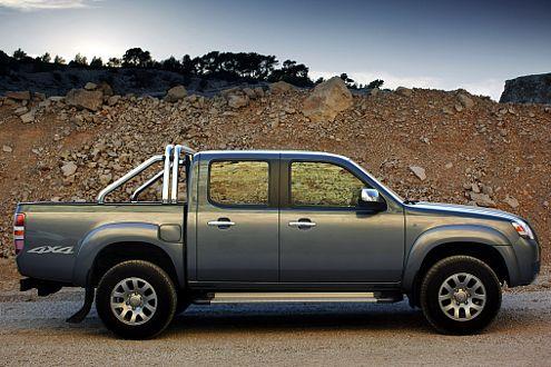 Der Mazda BT-50 ist mit Lang- und Doppelkabine zu haben. Preislicher Unterschied: 1700 Euro.